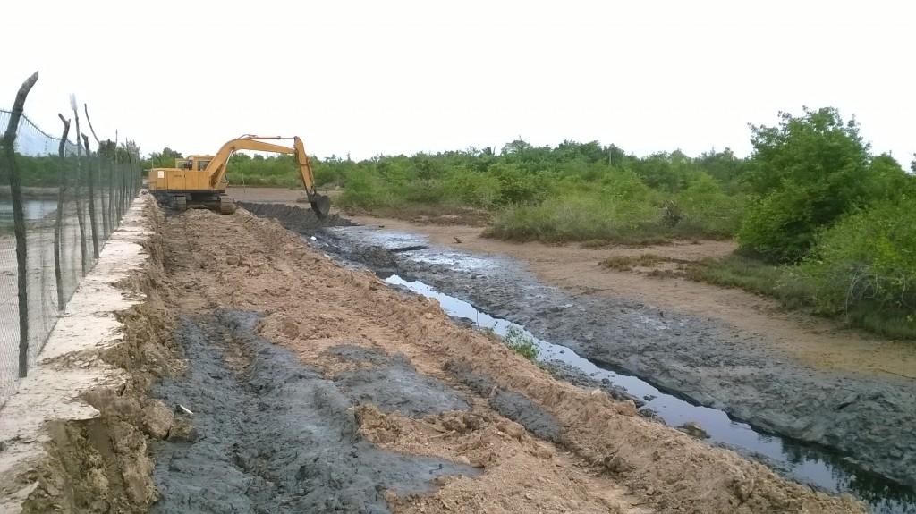 Physical Work on CBEMR site on Klang Island, Krabi is